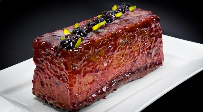 Red Pound Cake