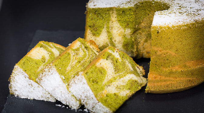 Green Tea Orange Chiffon