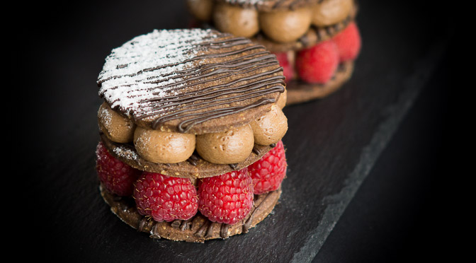 Raspberry Chocolate Tartlet