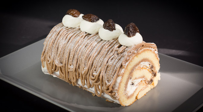 Mont Blanc Roll Cake