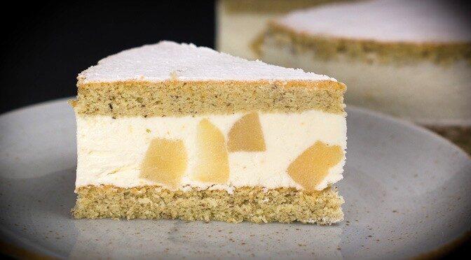 Italian Ricotta Pear Cake